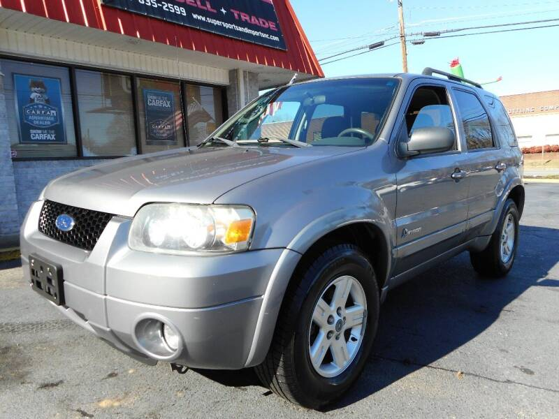 2007 Ford Escape Hybrid for sale at Super Sports & Imports in Jonesville NC