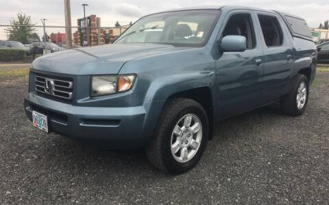 2006 Honda Ridgeline for sale at Universal Auto INC in Salem OR