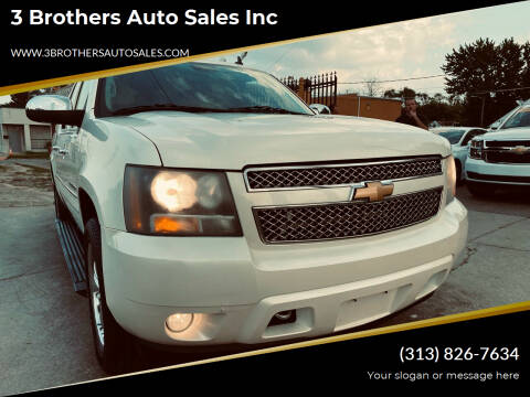 2008 Chevrolet Suburban for sale at 3 Brothers Auto Sales Inc in Detroit MI