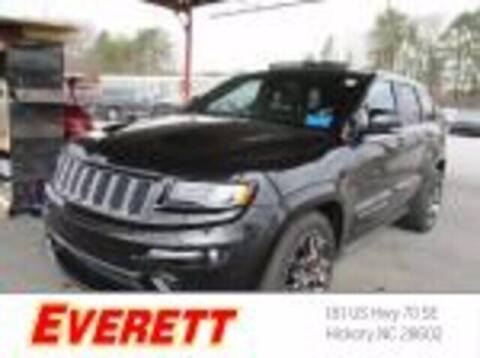 2016 Jeep Grand Cherokee for sale at Everett Chevrolet Buick GMC in Hickory NC
