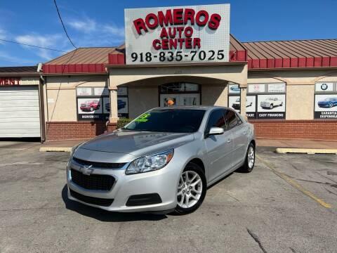 2015 Chevrolet Malibu for sale at Romeros Auto Center in Tulsa OK