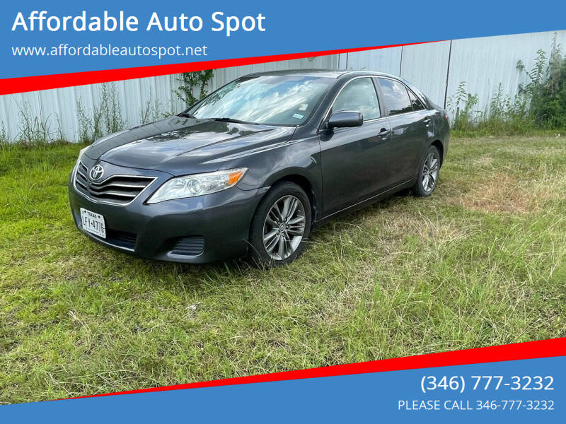 2010 Toyota Camry for sale at Affordable Auto Spot in Houston TX