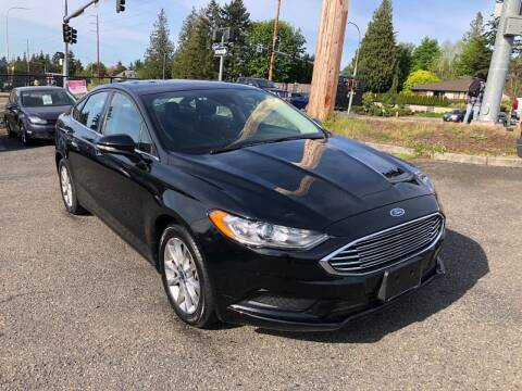 2017 Ford Fusion for sale at KARMA AUTO SALES in Federal Way WA