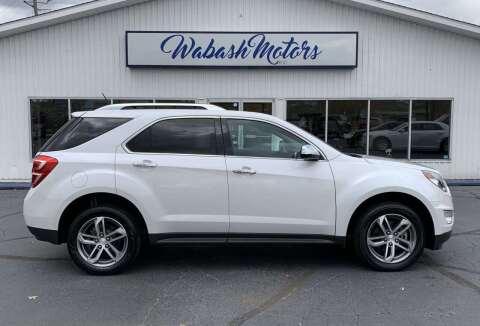 2017 Chevrolet Equinox for sale at Wabash Motors in Terre Haute IN