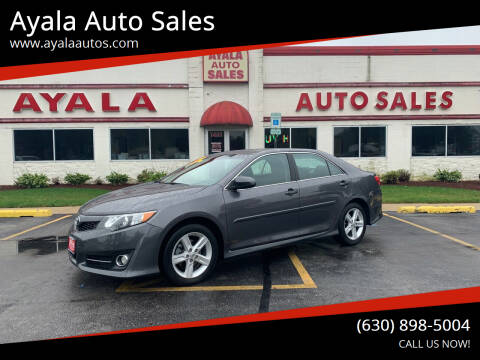 2014 Toyota Camry for sale at Ayala Auto Sales in Aurora IL