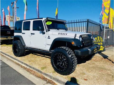 2017 Jeep Wrangler Unlimited for sale at KARS R US in Modesto CA