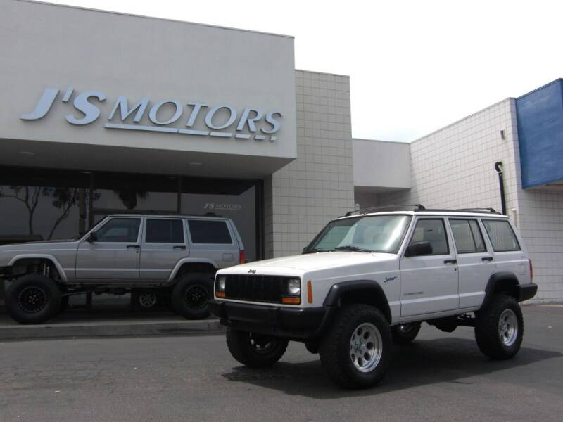 1998 Jeep Cherokee for sale at J'S MOTORS in San Diego CA