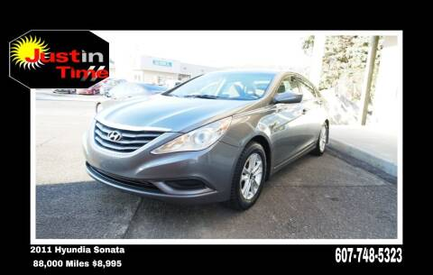 2011 Hyundai Sonata for sale at Just In Time Auto in Endicott NY