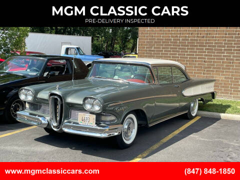 1958 Edsel Pacer for sale at MGM CLASSIC CARS-New Arrivals in Addison IL