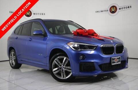2017 BMW X1 for sale at INDY'S UNLIMITED MOTORS - UNLIMITED MOTORS in Westfield IN