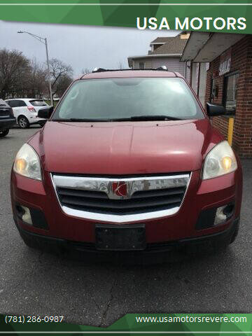 2007 Saturn Outlook for sale at USA Motors in Revere MA