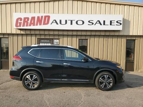2017 Nissan Rogue for sale at GRAND AUTO SALES in Grand Island NE