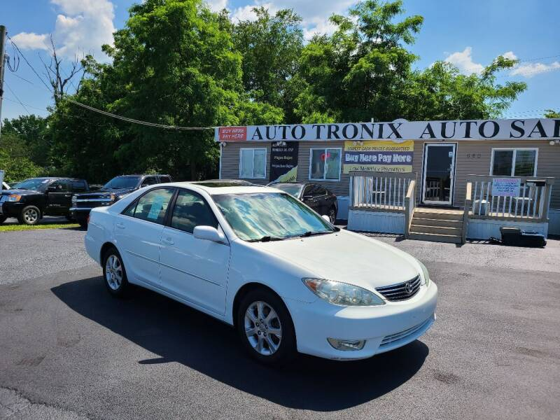 2005 Toyota Camry for sale at Auto Tronix in Lexington KY
