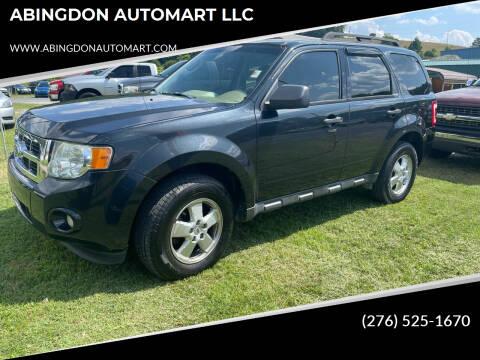 2011 Ford Escape for sale at ABINGDON AUTOMART LLC in Abingdon VA