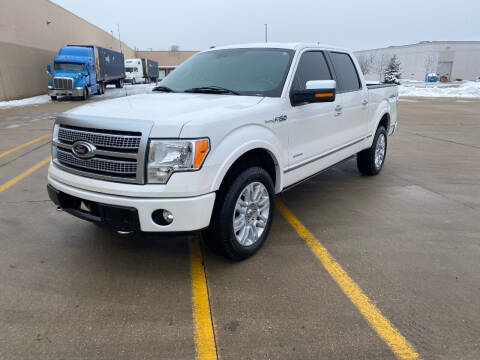 2012 Ford F-150 for sale at Triangle Auto Sales in Elgin IL