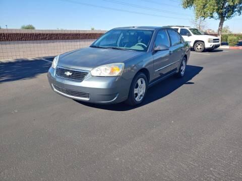 2006 Chevrolet Malibu for sale at Sooner Automotive Sales & Service LLC in Peoria AZ