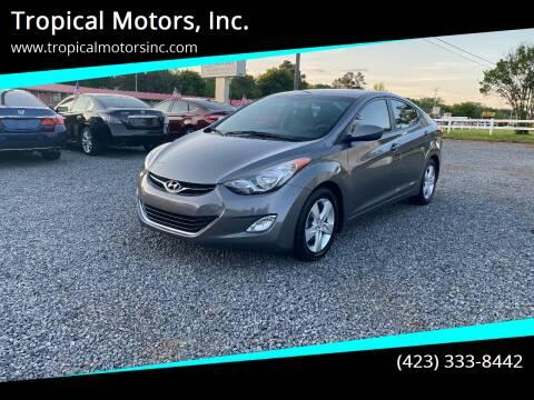 2013 Hyundai Elantra for sale at Tropical Motors, Inc. in Riceville TN
