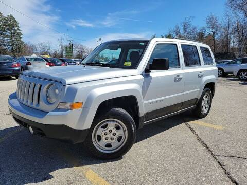 2012 Jeep Patriot for sale at J's Auto Exchange in Derry NH