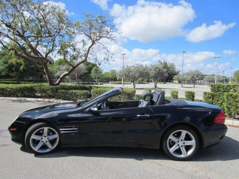 2006 Mercedes-Benz SL-Class for sale at Auto Sport Group in Delray Beach FL