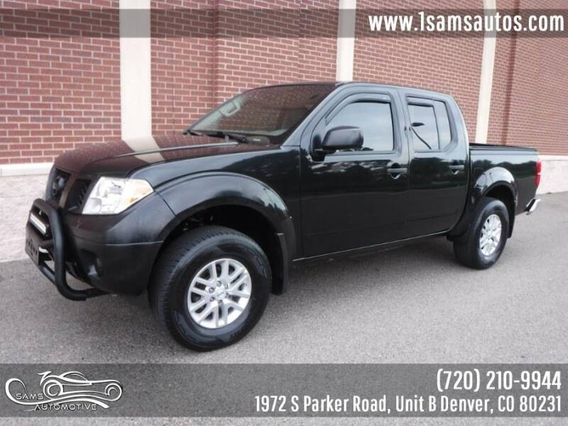 2019 Nissan Frontier for sale at SAM'S AUTOMOTIVE in Denver CO