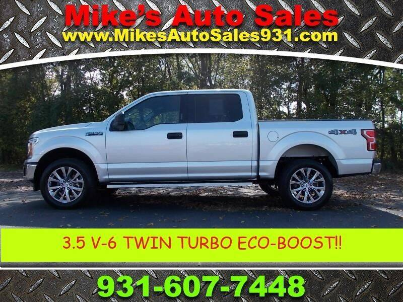 2018 Ford F-150 for sale at Mike's Auto Sales in Shelbyville TN