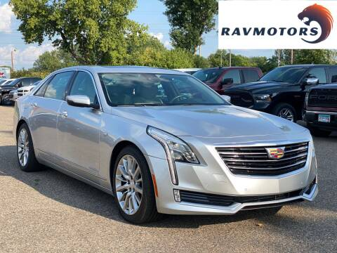 2016 Cadillac CT6 for sale at RAVMOTORS in Burnsville MN