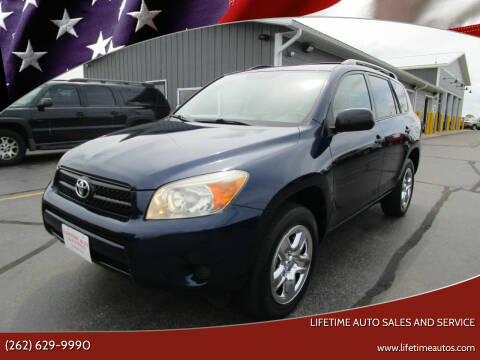 2007 Toyota RAV4 for sale at Lifetime Auto Sales and Service in West Bend WI