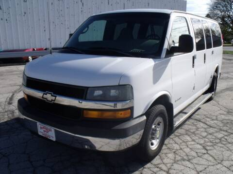 2005 Chevrolet Express Passenger for sale at Dendinger Bros Auto Sales & Service in Bellevue OH