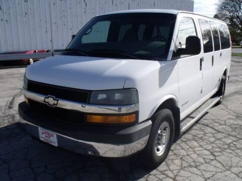 2005 Chevrolet Express Passenger for sale at Dendinger Bros Auto Sales & Service in Bellevue OH