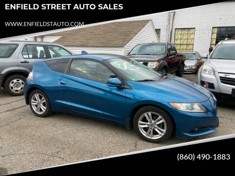 2011 Honda CR-Z for sale at ENFIELD STREET AUTO SALES in Enfield CT