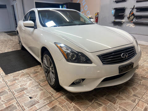 2012 Infiniti G37 Coupe for sale at TOP SHELF AUTOMOTIVE in Newark NJ