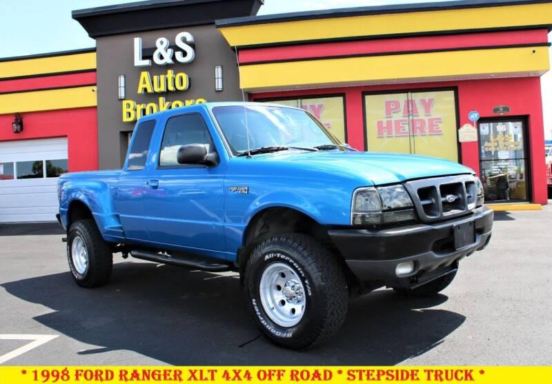 1998 Ford Ranger for sale at L & S AUTO BROKERS in Fredericksburg VA
