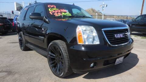 2009 GMC Yukon for sale at Luxor Motors Inc in Pacoima CA