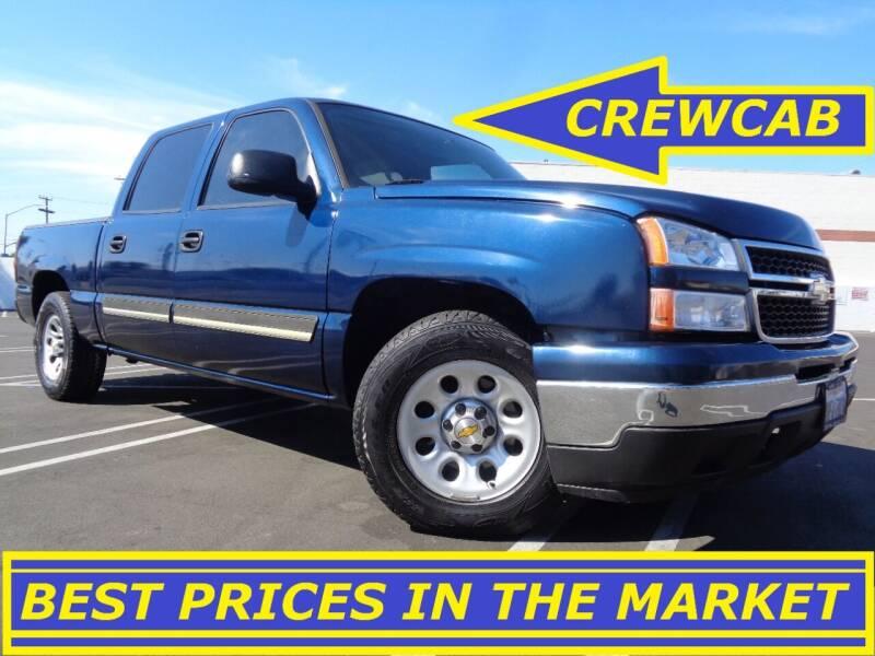 2007 Chevrolet Silverado 1500 Classic for sale at ALL STAR TRUCKS INC in Los Angeles CA