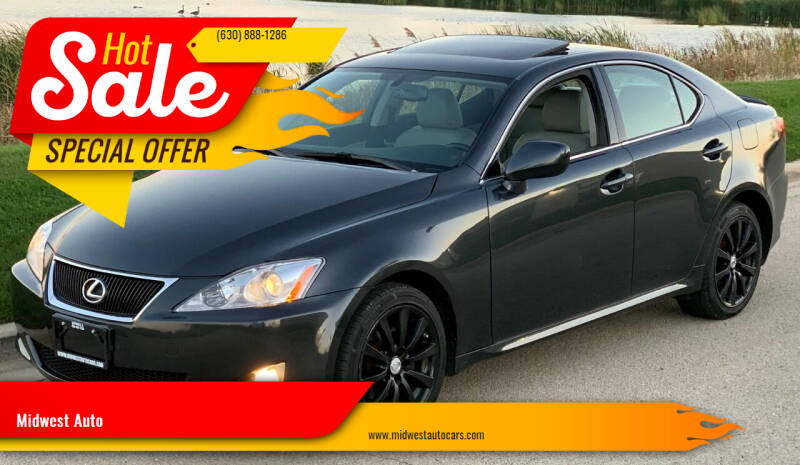 2008 Lexus IS 250 for sale at Midwest Auto in Naperville IL