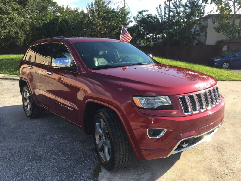 2014 Jeep Grand Cherokee for sale at Detroit Cars and Trucks in Orlando FL