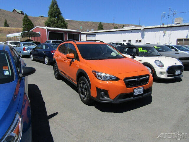 2018 Subaru Crosstrek for sale at Guy Strohmeiers Auto Center in Lakeport CA