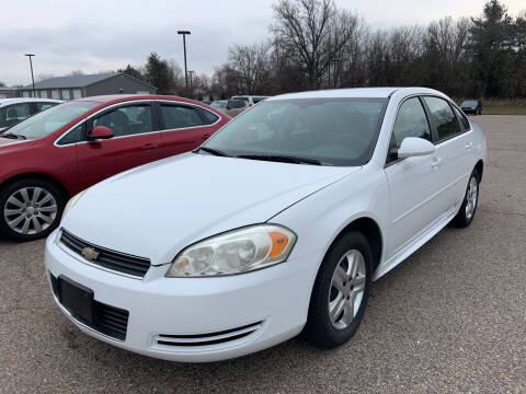 2011 Chevrolet Impala for sale at Blake Hollenbeck Auto Sales in Greenville MI