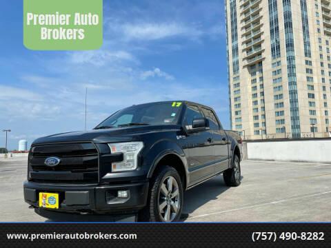 2017 Ford F-150 for sale at Premier Auto Brokers in Virginia Beach VA