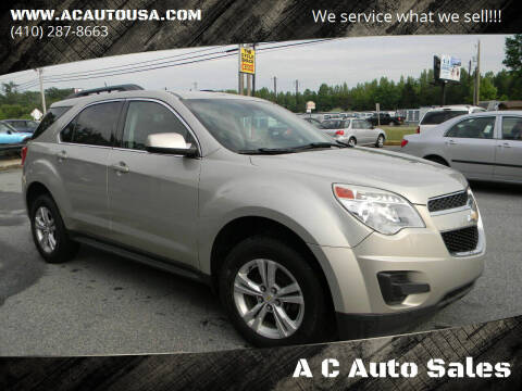 2014 Chevrolet Equinox for sale at A C Auto Sales in Elkton MD