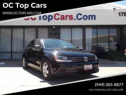 2015 Volkswagen Jetta for sale at OC Top Cars in Irvine CA