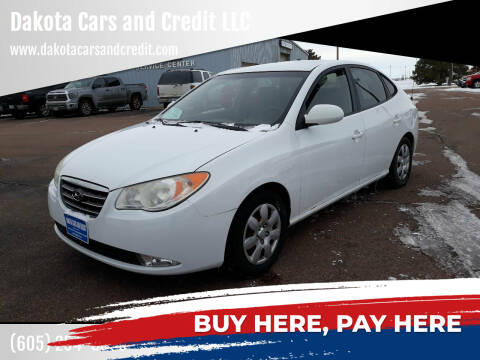 2007 Hyundai Elantra for sale at Dakota Cars and Credit LLC in Sioux Falls SD
