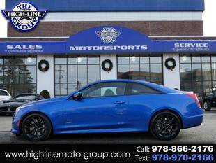 2016 Cadillac ATS-V for sale at Highline Group Motorsports in Lowell MA