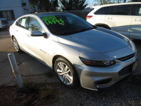 2016 Chevrolet Malibu for sale at Uno's Auto Sales in Milwaukee WI