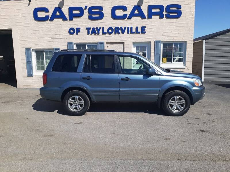 2005 Honda Pilot for sale at Caps Cars Of Taylorville in Taylorville IL