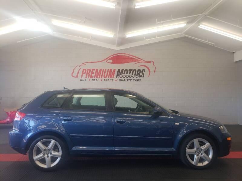2008 Audi A3 for sale at Premium Motors in Villa Park IL