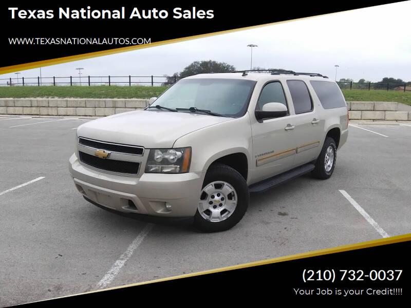 2009 Chevrolet Suburban for sale at Texas National Auto Sales in San Antonio TX