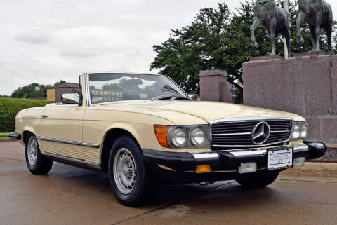 1983 Mercedes-Benz 380-Class for sale at European Motor Cars LTD in Fort Worth TX