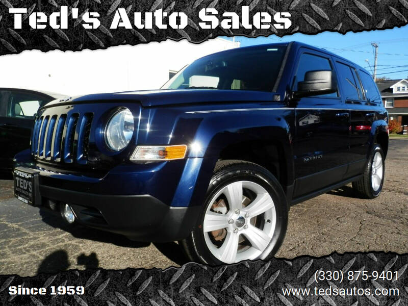 2015 Jeep Patriot for sale at Ted's Auto Sales in Louisville OH