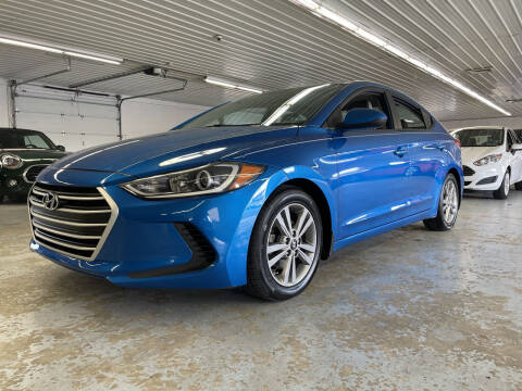 2017 Hyundai Elantra for sale at Stakes Auto Sales in Fayetteville PA